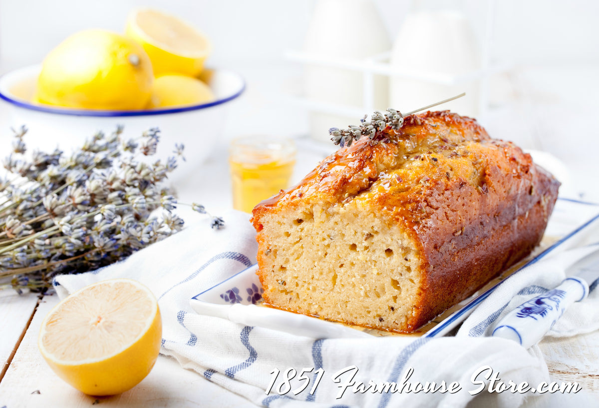 Lemon-Lavender Bread