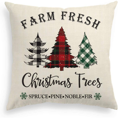 Buffalo Check Christmas | Farm Fresh Christmas - Plaid Trees