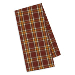 Fall Plaid Oversized Dish Towel