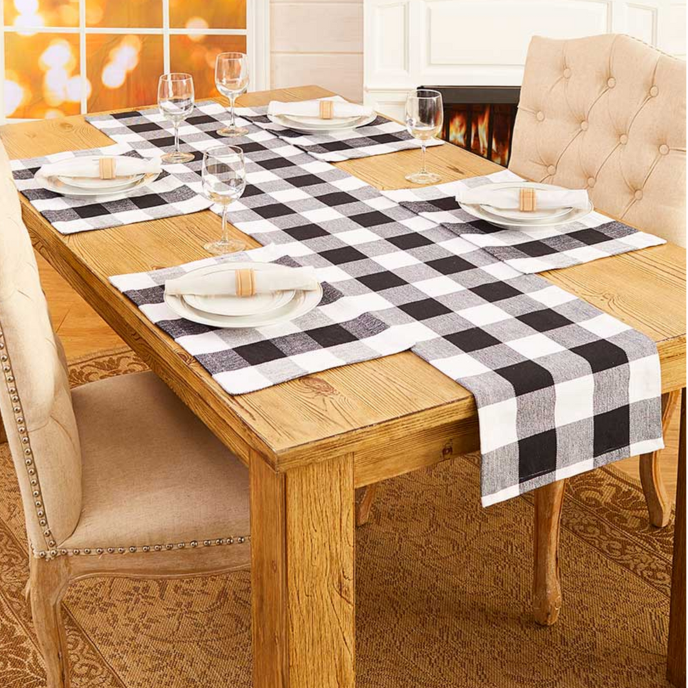 Buffalo Check Table Setting