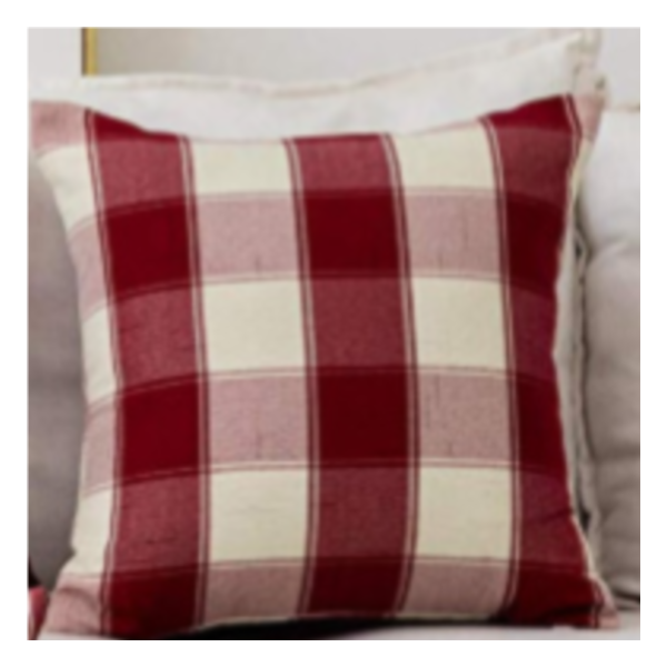 Tartan Style Pillow Cover
