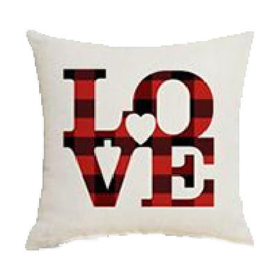 Love Block 2 - Love Pillow cover