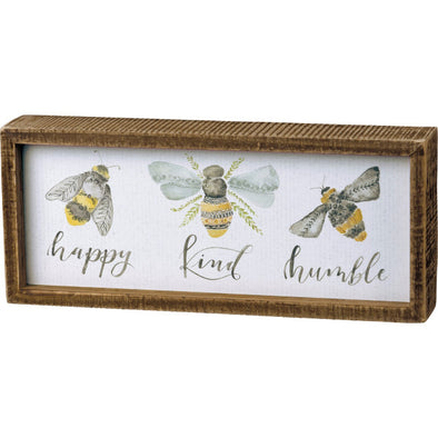 Sweet Bee Boxed Sign
