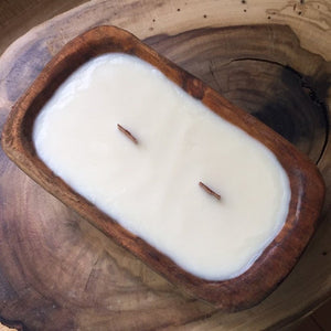 Fall Or Christmas Dough Bowl Soy Candle