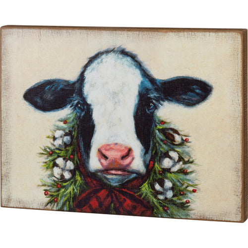 Farmhouse Sign - Cow