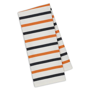 Pumpkin Stripe - Fall - Halloween Oversized Dish Towel