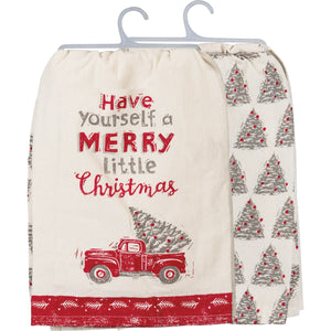 Dish Towel Set- Have Yourself A Merry Little Christmas