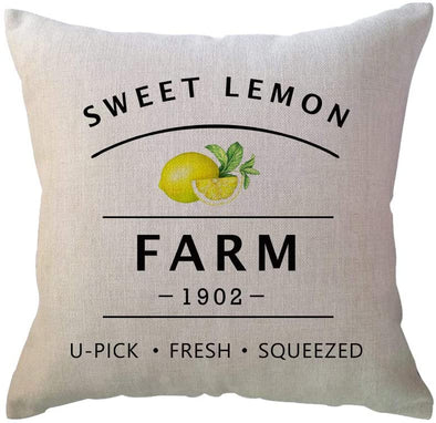 Sweet Lemon Pillow Cover