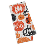 BOO - Fall - Halloween Oversized Dish Towel