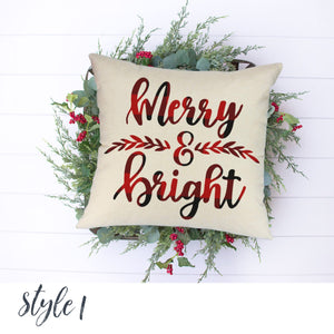 Buffalo Check Christmas | Merry & Bright
