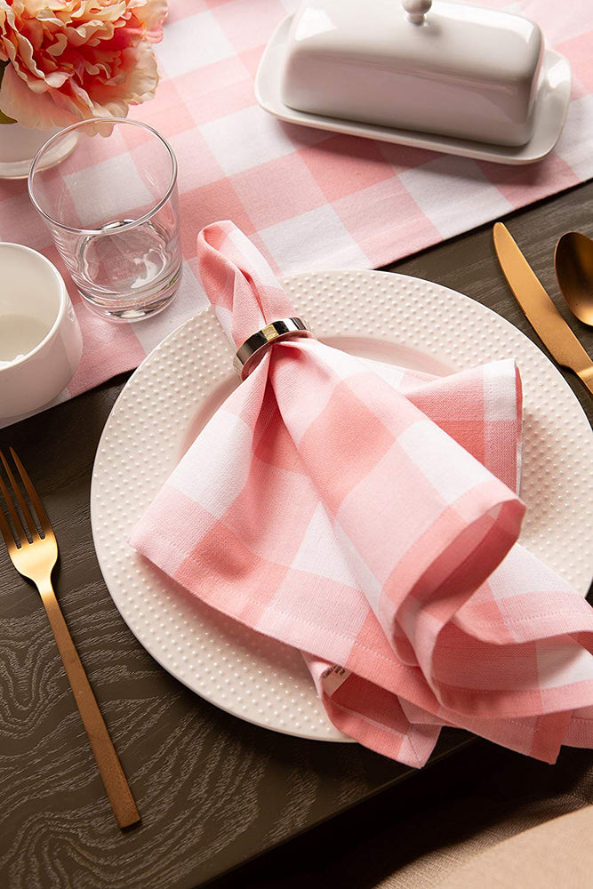 Buffalo Check Table Napkins - Set of 6