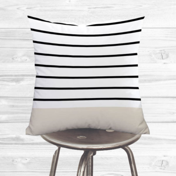 Boho Pillow Cover - stripes