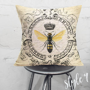Spring Bee Pillow Cover