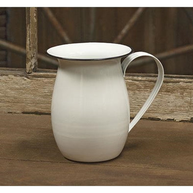 Decorative Water Enamel Pitcher