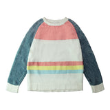 Retro Striped Jumper - GLETNYC.com