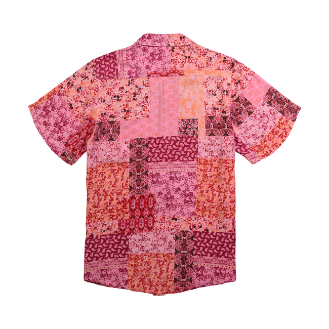 Printed Button Down Shirt - GLETNYC.com