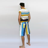 Striped Sleeveless Jumper - GLETNYC.com