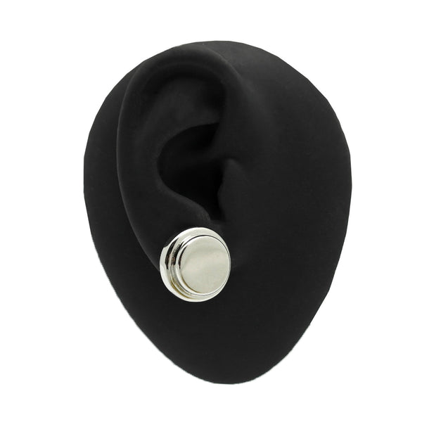 Devo Mock Plug Earring (Single) - GLETNYC.com