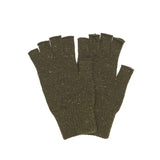 Fingerless Lambswool Gloves - GLETNYC.com