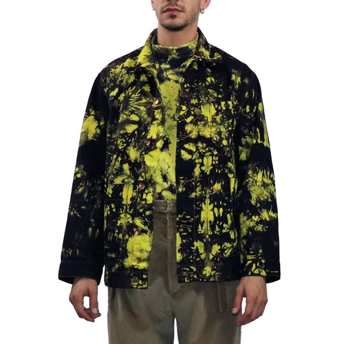 Tie Dyed Workers Jacket - GLETNYC.com