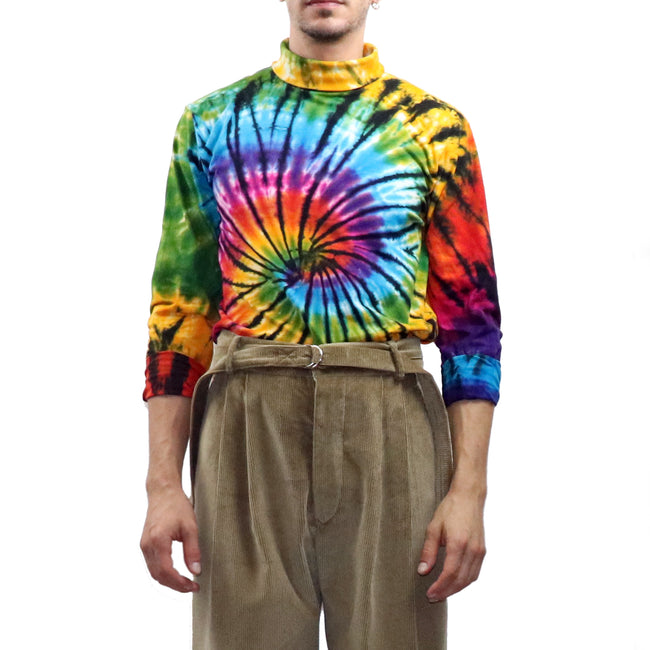 Tie Dyed Turtleneck - GLETNYC.com