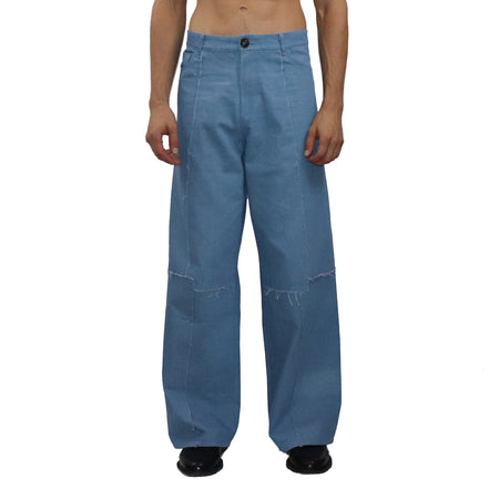 Pleated Corduroy Trouser
