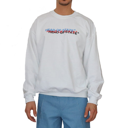 """Head of State"" Crewneck Sweatshirt - GLETNYC.com"