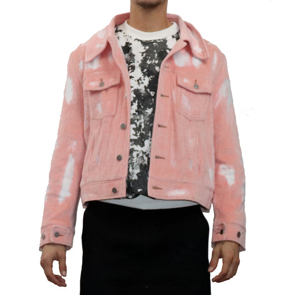 Devore Velour Denim Jacket - GLETNYC.com