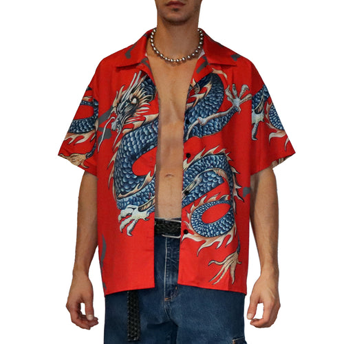 Dragon Printed Shirt - GLETNYC.com