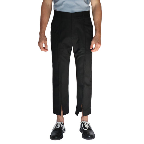 Split Wool Trouser - GLETNYC.com