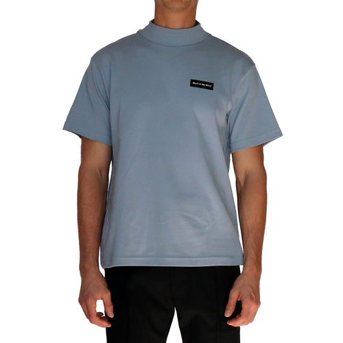 Mock Neck T-Shirt - GLETNYC.com