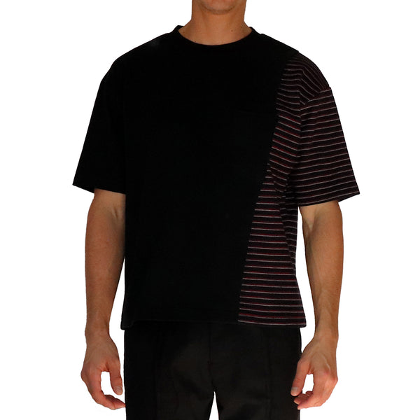 Layered Heavy Jersey T-Shirt - GLETNYC.com