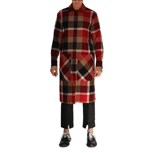 Long Shirt Coat - GLETNYC.com