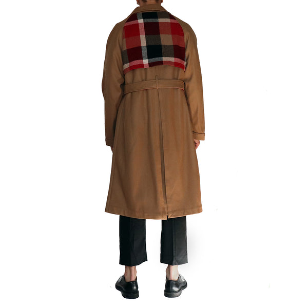 Collage Trench Coat - GLETNYC.com