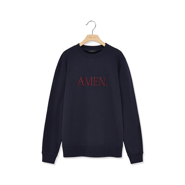 """AMEN"" Huli Fleece Sweatshirt - GLETNYC.com"