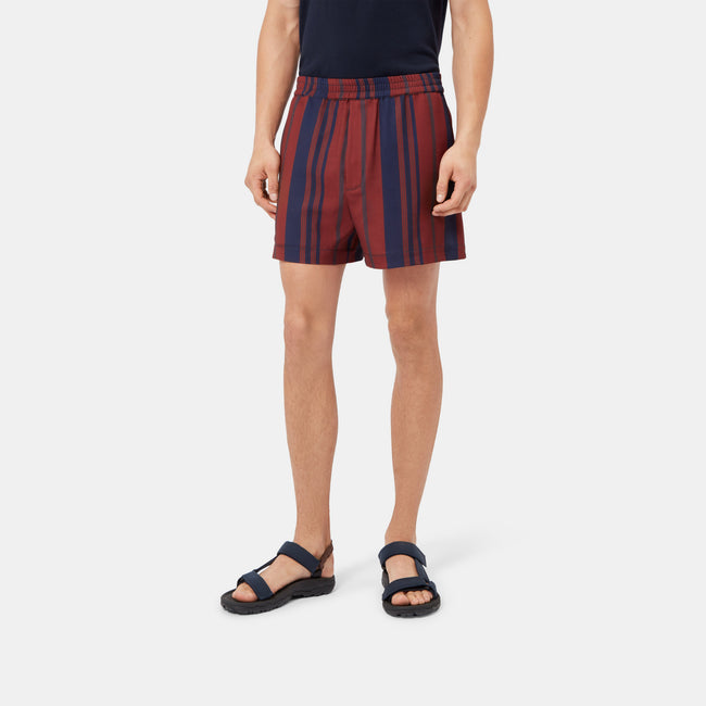Taklama Striped Boxer Shorts - GLETNYC.com