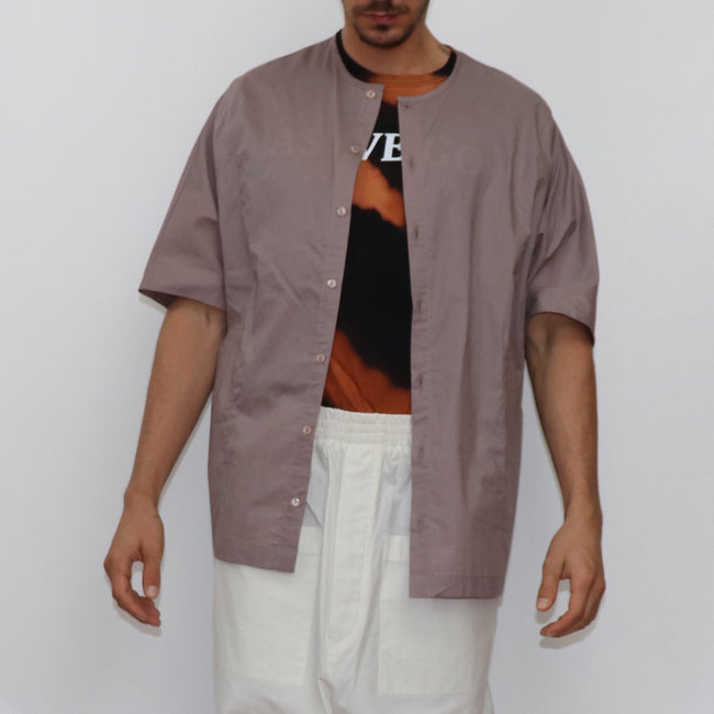 Oversized Button Shirt - GLETNYC.com