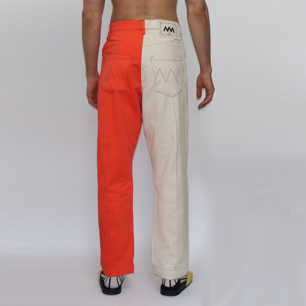 Denim Narrow Leg Trouser - GLETNYC.com