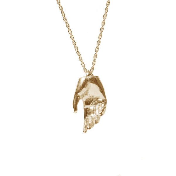 Lady Hand Necklace - GLETNYC.com