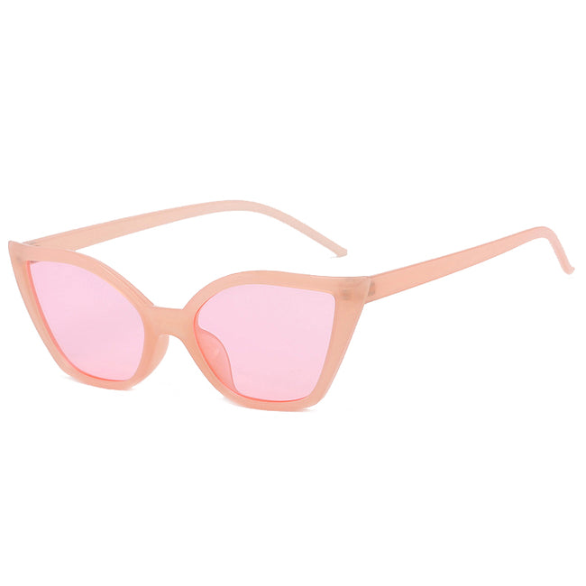Pink Cat-eye Sunglasses - GLETNYC.com
