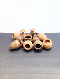 10 x Mini Terracotta Pots - Mixed