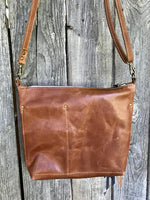 buffalo trail deluxe ~ leather bag