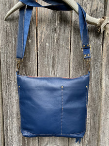 Autumn Deluxe - Handcrafted Leather and Wool Bag