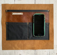 Monument Deluxe - Handcrafted Leather and Wool Bag