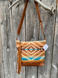 santa fe deluxe ~ leather bag