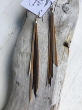 Sparrow - Dainty Fringe Leather Earrings