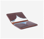 Blackinkk - Bi-fold Card Wallet / 2020 - Kangaroo Leather - Vintage Chocolate