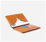 Blackinkk - Bi-fold Card Wallet RFID - Kangaroo Leather - Vintage Caramel