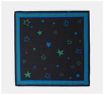 Roch Lola - The Scarf - Stars - Black/green/blue