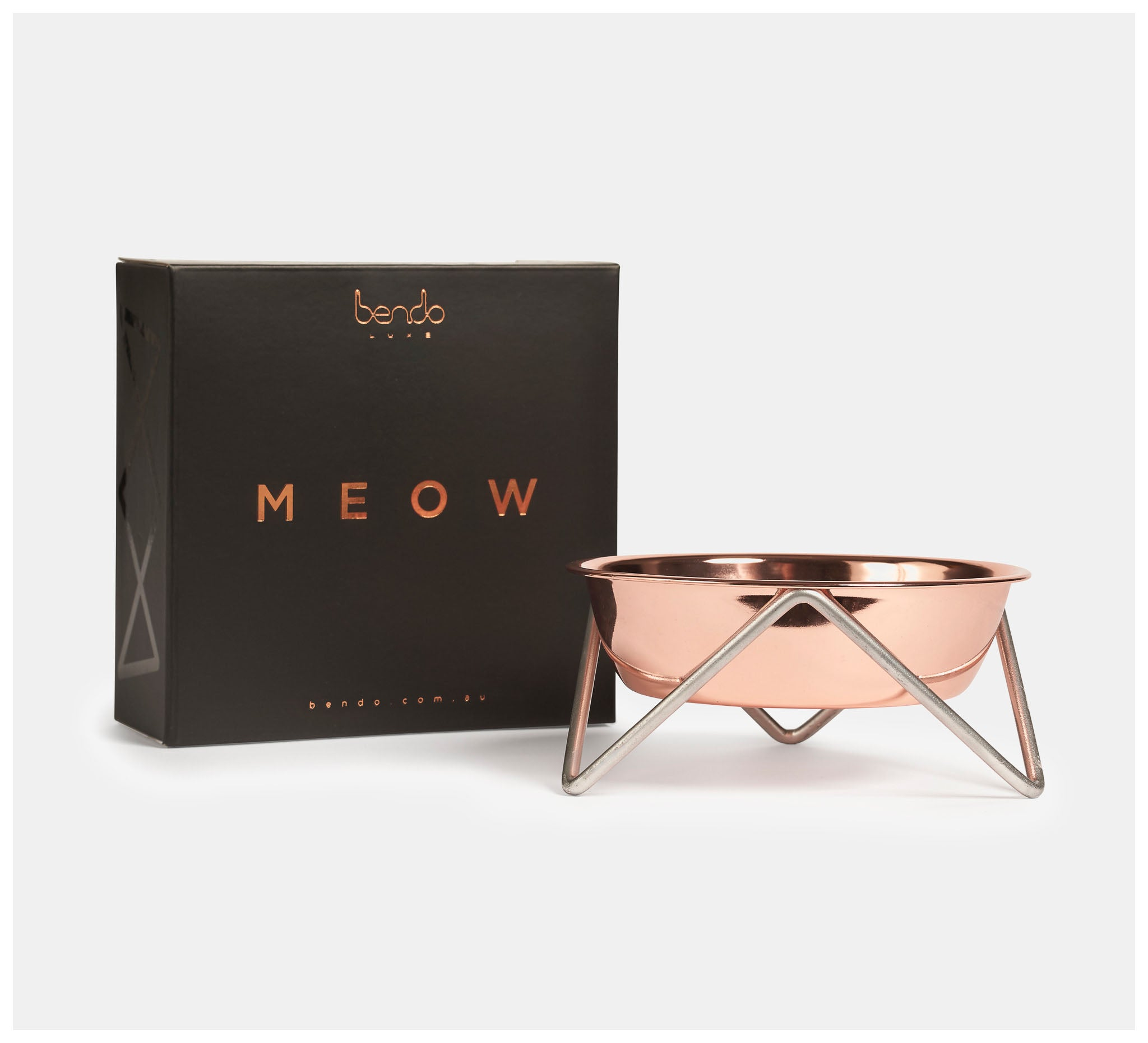 Bendo - Meow Copper on Chrome